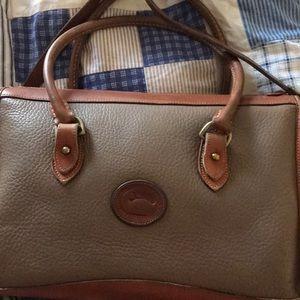 Dooney&bourke satchel/ long strap